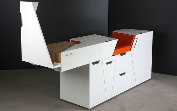 modulares haus interior innovative küchen möbel