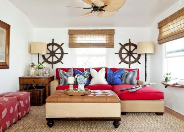 diy deko ideen für nautisches interieur design - sommeratmosphäre - Wohnzimmer Deko Diy