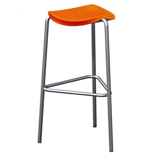 oktober sonnenuntergang 10 orange barhocker mit lehne. Black Bedroom Furniture Sets. Home Design Ideas