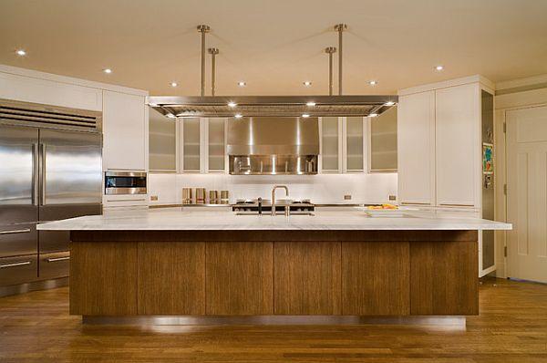 originelle küchenschrank designs einrichtung deckenbeleuchtung