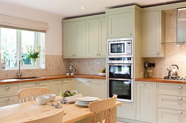 originelle küchenschrank designs einrichtung holz esstisch traditionell