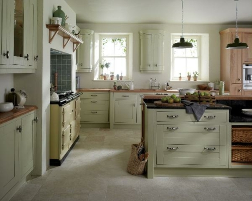 Ivory Shaker Kitchen Cabinet Doors