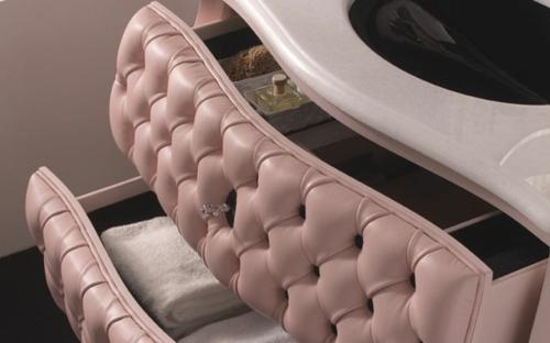 designer rosa möbel pink vanity design rosa schminktisch