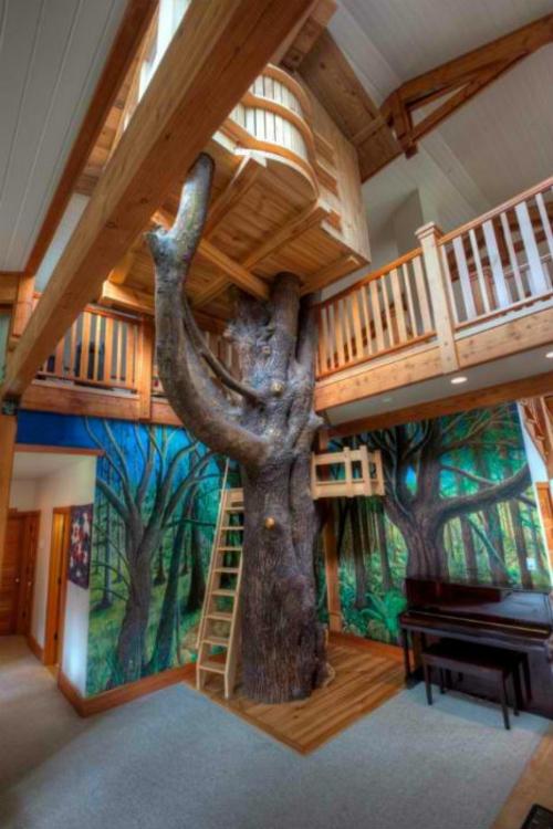 Private Spielplätze Einzigartiges Baumhaus Wie Im Wald