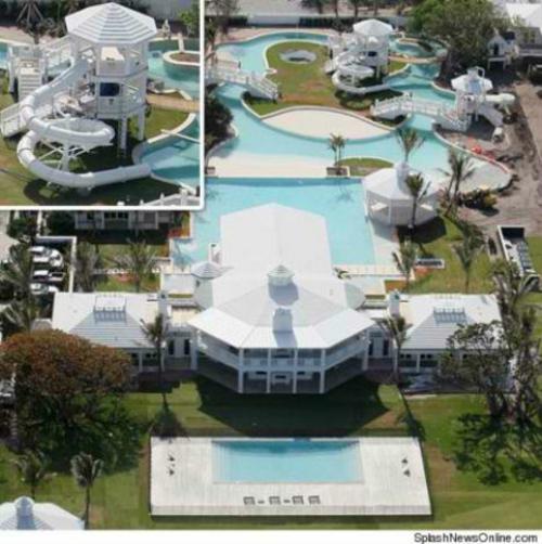 private spielplätze mit wunderschönem aqua park
