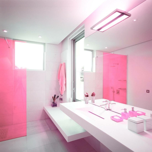 pink bathroom decorating ideas in farbe gebadet elegante ideen f 252 r rosa badezimmer designs 21280