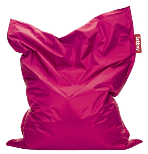 rosa liege kissen fatboy design designer rosa möbel