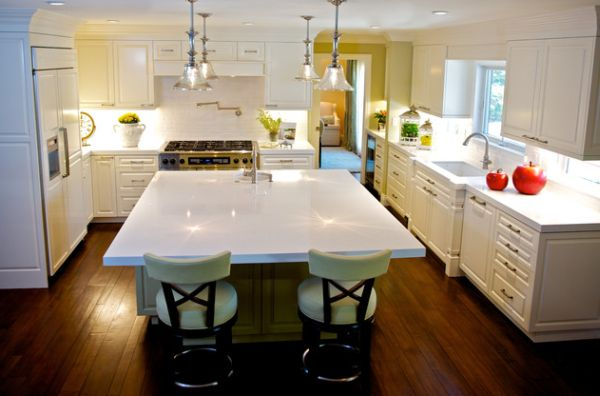 55 schöne coole pendelleuchten in der küche - schicke beleuchtung, Esstisch ideennn