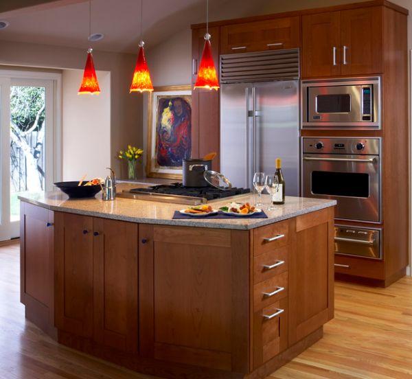 Lampe Kücheninsel: 55 Schöne Coole Pendelleuchten In Der Küche
