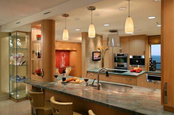 55 schöne coole pendelleuchten in der küche - schicke beleuchtung - Lampen Für Die Küche
