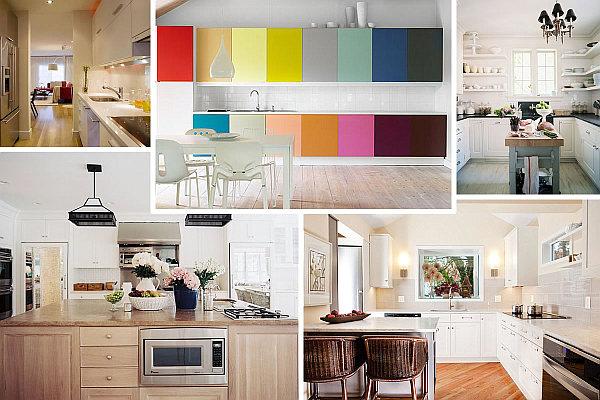 Sch ne design ideen f r kleine k chen schicke einrichtung for Farben einrichtung
