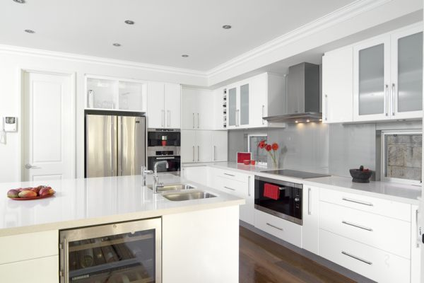 Schöne Design Ideen für kleine Küchen - schicke Einrichtung