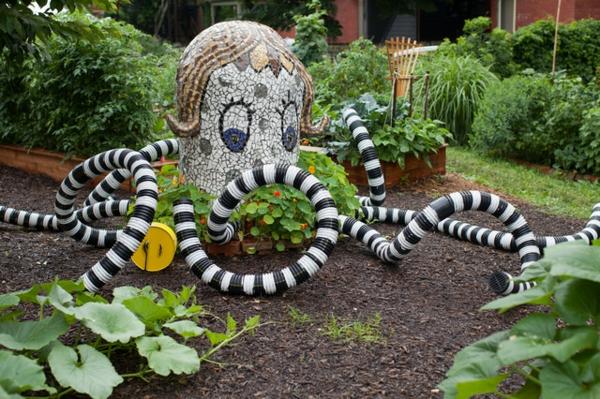 Coole kunstwerke im kommunalen garten in pittsburgh - Garten mosaik ...