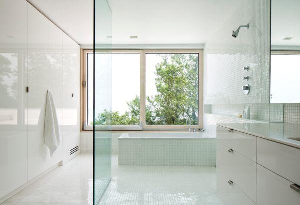 badezimmer weis ~ kreative deko-ideen und innenarchitektur - Badezimmer Wei