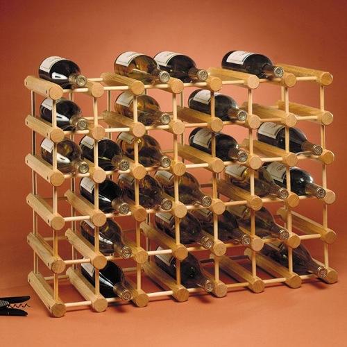schicke Weinregale und Ständer aus Holz gestell jk adams