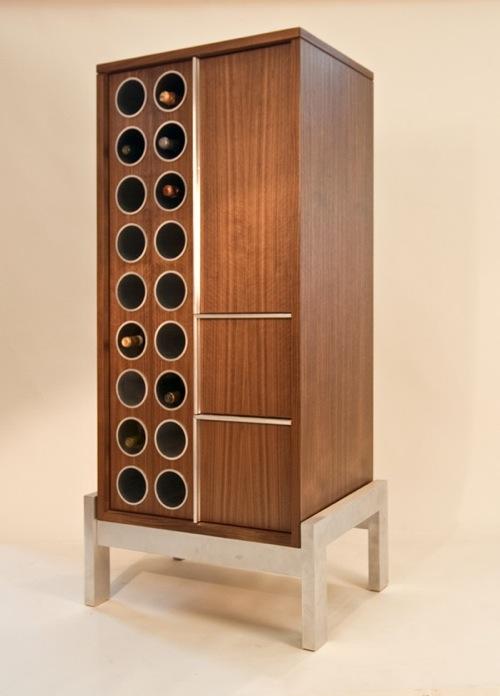 schicke Weinregale und Ständer aus Holz haus sp division