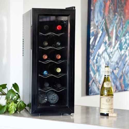 schicke Weinregale und Ständer kühlschrank koolatron