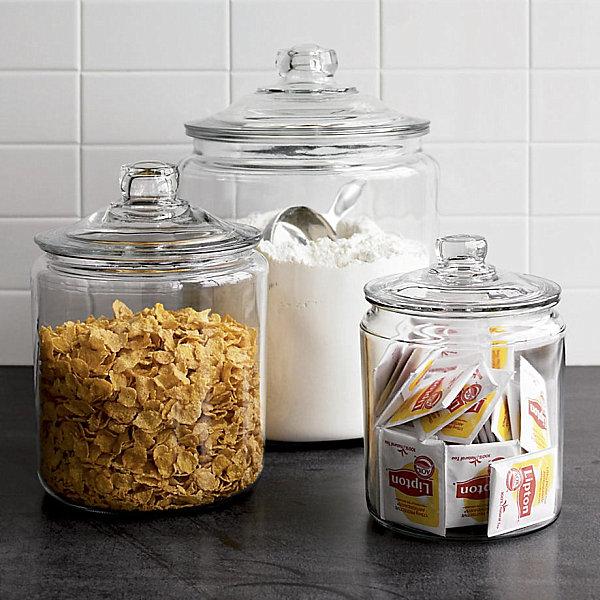 schicke behälter für lebensmittel vollglas modell deckel