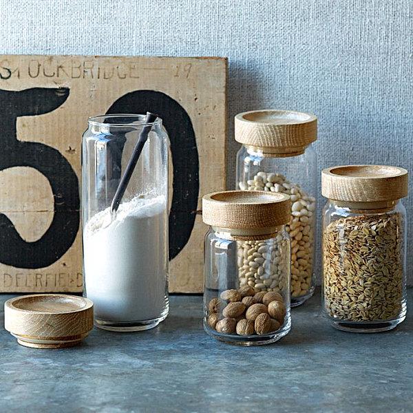 Küchen Aufbewahrungsbehälter schicke behälter für lebensmittel in der modernen küche