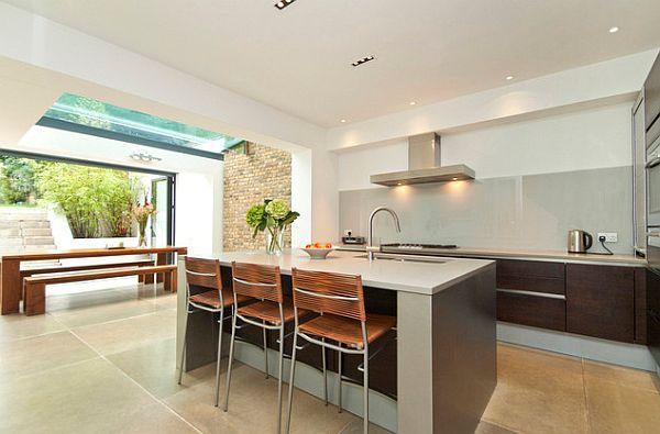 Die k che neu gestalten 41 auffallende k chen design ideen for Civil kitchen designs