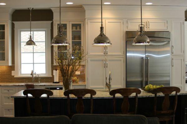 Moderne Lampen 55 : Schöne coole pendelleuchten in der küche schicke beleuchtung