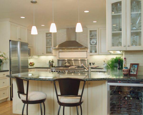 55 schone coole pendelleuchten in der kuche schicke for H ngelampen küche