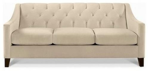 schicke deko ideen fürs wohnzimmer sofa bequem traditionell
