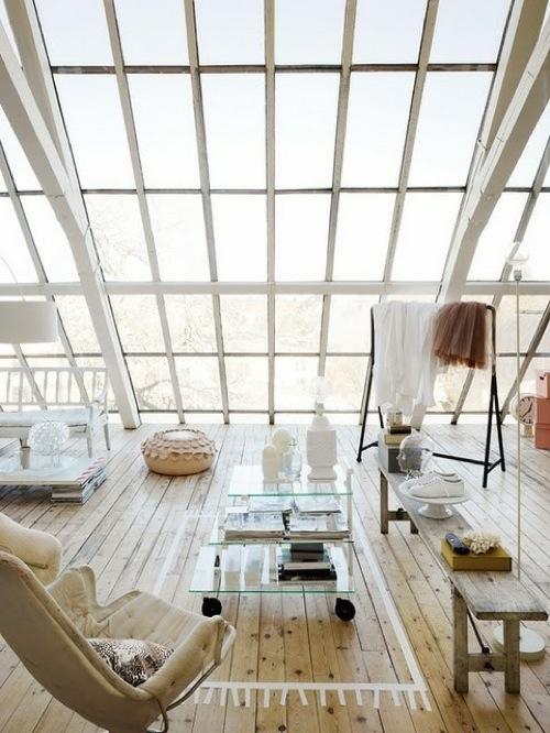 wohnideen fr dach schrg, 10 atemberaubende schräge fenster designs - ein breiterer ausblick, Design ideen