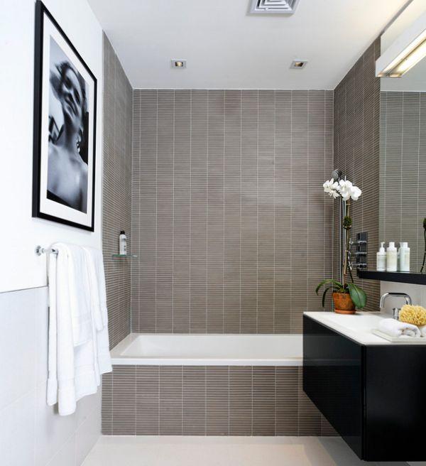 Moderne Badezimmer Grau ~ Ideen Für Die Innenarchitektur Ihres Hauses