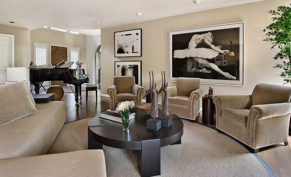 schwarz weiß bilder interior elegant und stilvoll