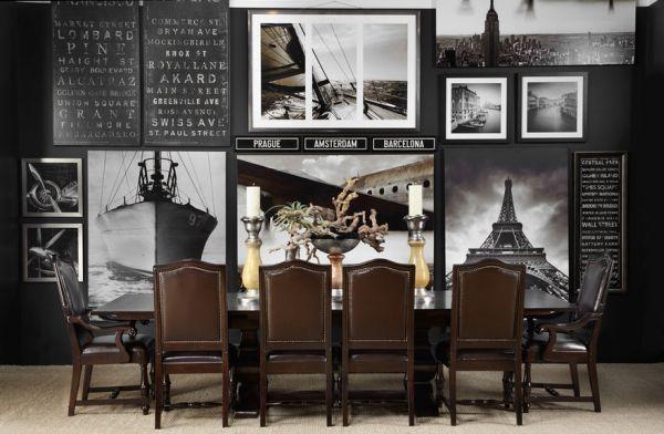schwarz weiß bilder interior mit abenteuer flair