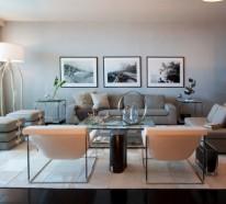 Schwarz Weiß Bilder Interior – tolle Ideen für Ihre exquisite Dekoration