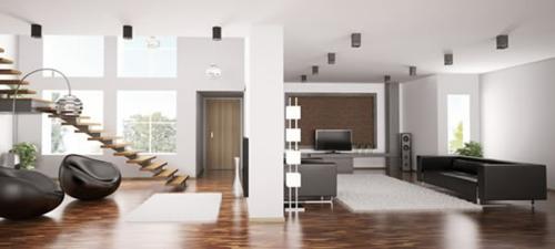 treppe wohnzimmer:Das Wohnzimmer attraktiv einrichten – 70 Designs, die Sie unbedingt