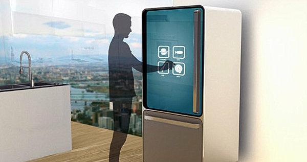 smart home technologie kühlschrank yanko design