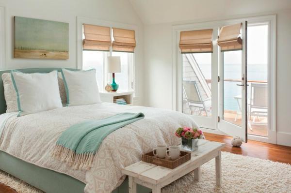sommer im schlafzimmer - 8 kreative design ideen, Schlafzimmer