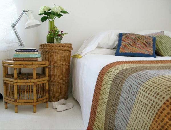 Sommer im schlafzimmer 8 kreative design ideen - Rattan schlafzimmer ...