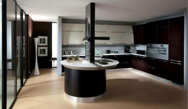 spülen für die küche einrichtung dunkel  ambiente