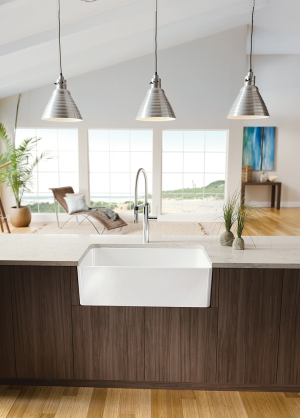 Kitchen Designs With Farmhouse Sinks