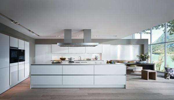 spülen für die küche weiß einrichtung minimalistisch modern kücheninsel