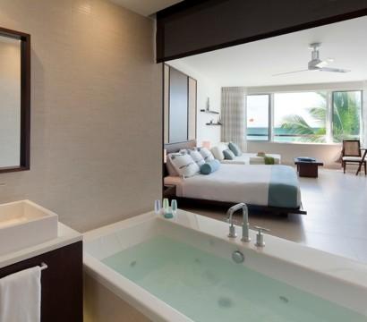 spa ausstattung im badezimmer schaffen sie entspannende atmosph re. Black Bedroom Furniture Sets. Home Design Ideas