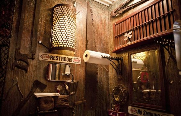 Steampunk interieur design ideen von cool zu crazy for Industrial style house for sale