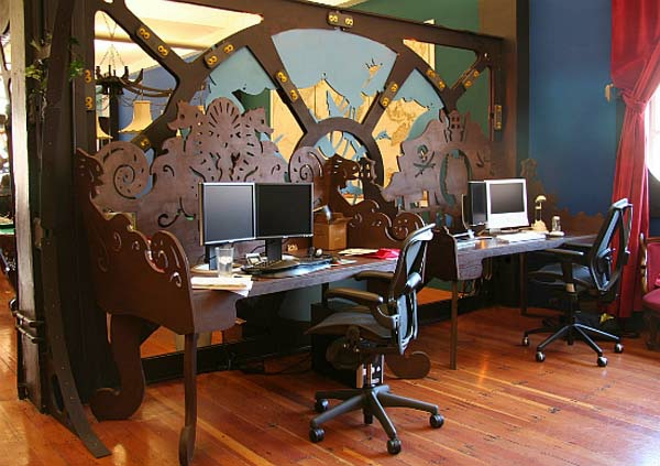 steampunk interieur design ideen von cool zu crazy