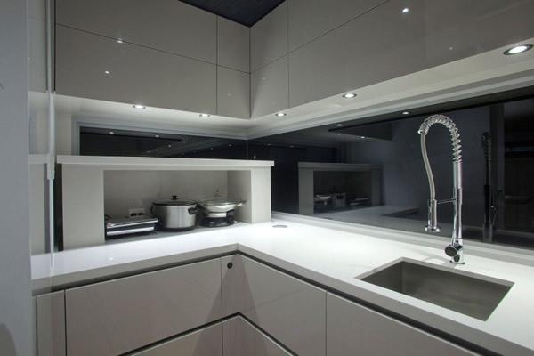 tolle spülen designs - 43 tolle ideen für ihr spülbecken - Wasserhahn Küche Weiß