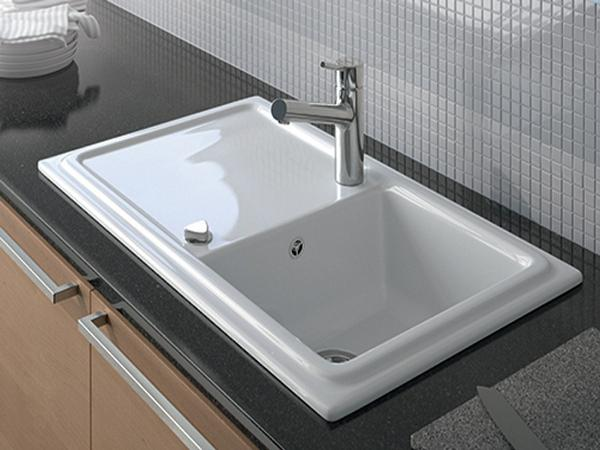 Spülbecken keramik grau  Tolle Spülen Designs - 43 tolle Ideen für Ihr Spülbecken