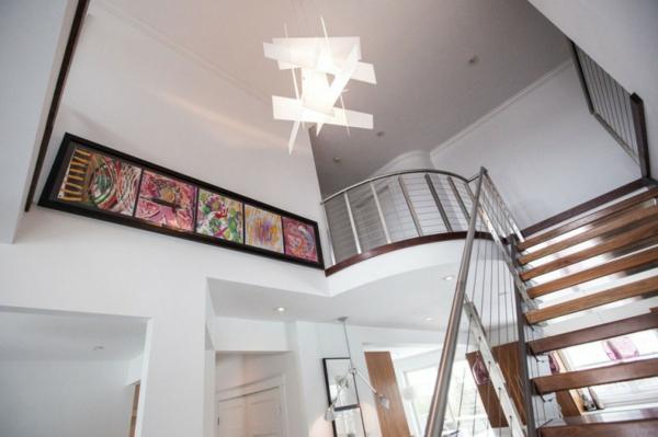 Treppengeländer Holz Bauhaus ~ traumhafte designer wohnung elegante treppengeländer viele bilder