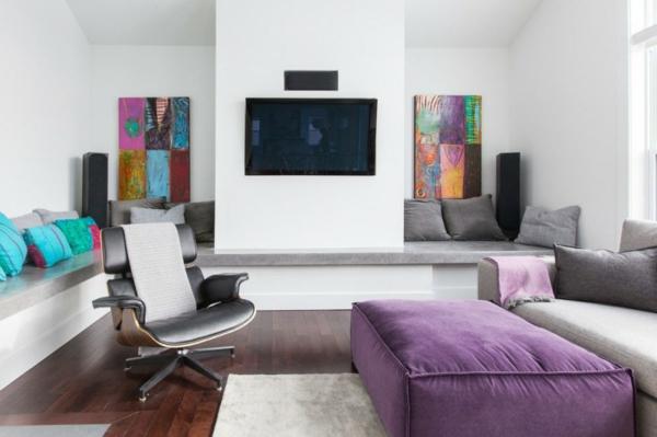 traumhafte designer wohnung farbenfrohe ausstattung