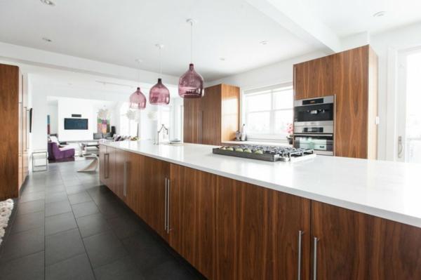 Treppengeländer Holz Bauhaus ~ traumhafte designer wohnung  mit nahtlosem Übergang zwischen Küchen