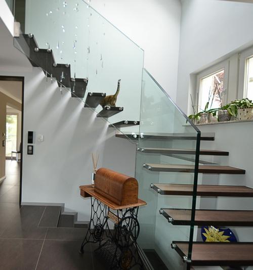 Treppe Ohne Geländer 10 erstaunliche innovative treppen mit und ohne geländer