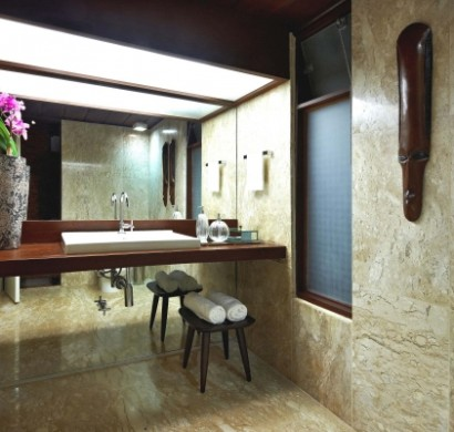 Tropische badezimmer im sommerstil 12 tolle design ideen - Afrikanische weihnachtsdeko ...