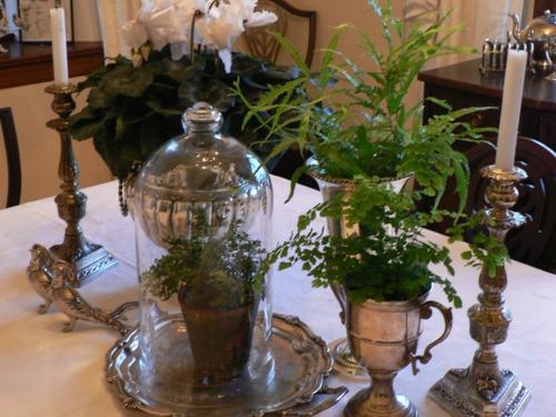 vintage silber dekoration zu hause ein charme aus der alten welt. Black Bedroom Furniture Sets. Home Design Ideas